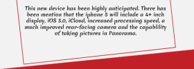 Is it True? Iphone 5 Announced Next Month [INFOGRAPHIC]